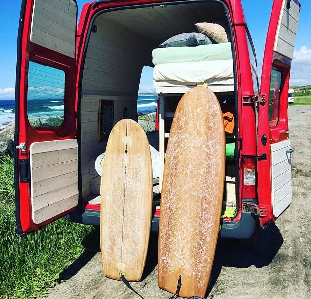 surf- van
