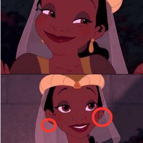 princess frog earring