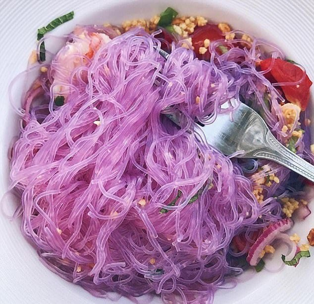 purple noodes