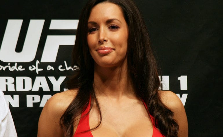 For that Ufc ring girl edith labelle hot