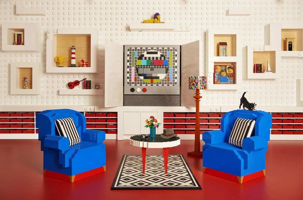 Win A petition To Spend A Night In A House Made LEGO
