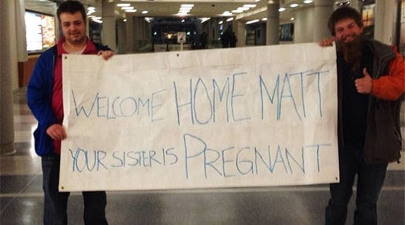 Hilarious Airport Pickup Signs Captured on Camera
