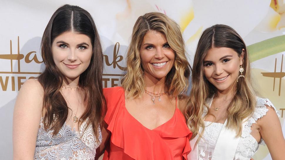 lori loughlin daughters red carpet