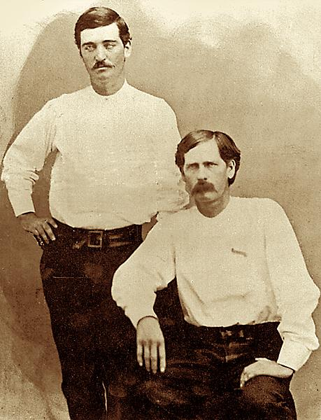 old west bat masterson wyatt earp