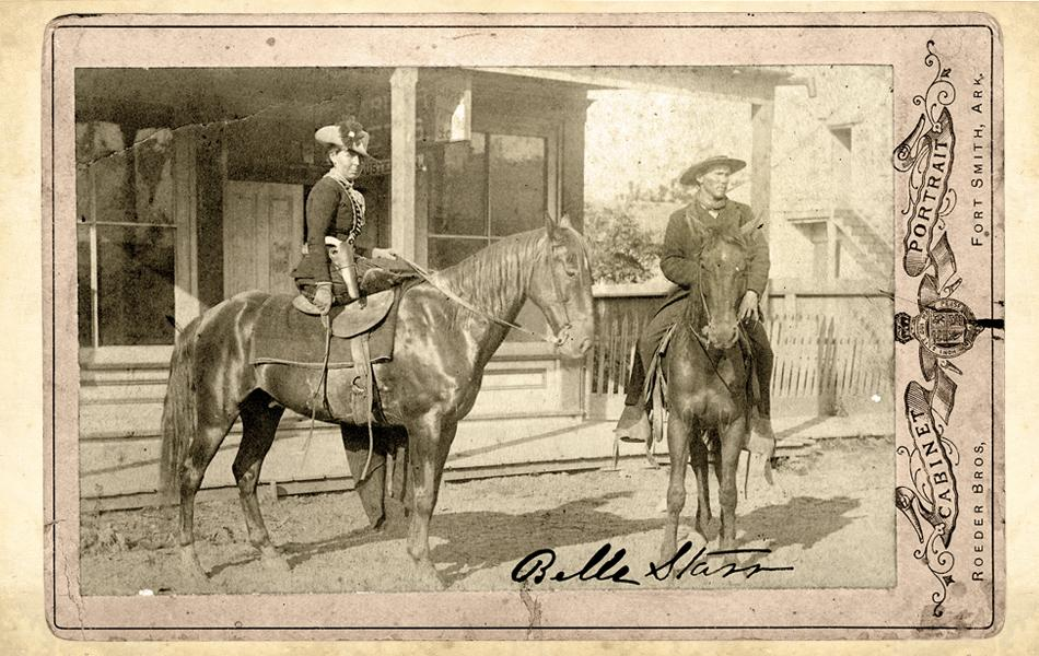 old west belle starr
