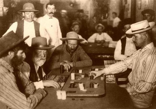 old west frontier gambling