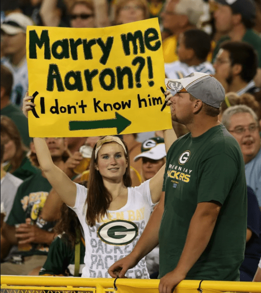 funny sports signs