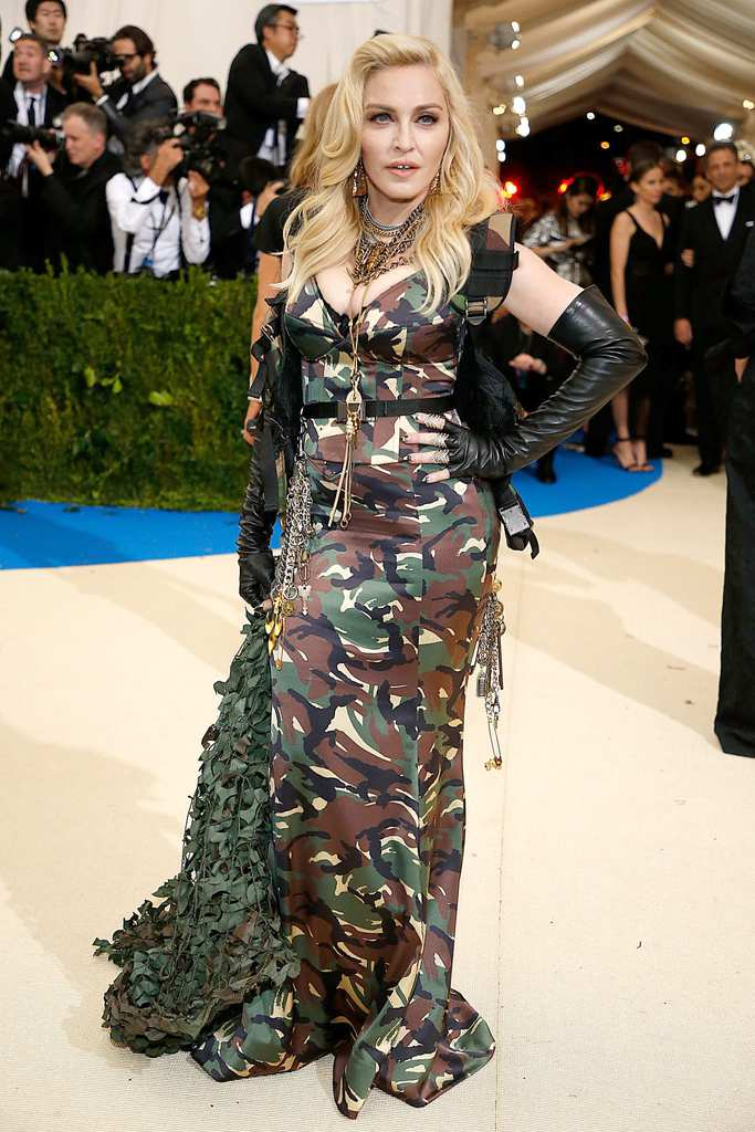 red carpet-madonna