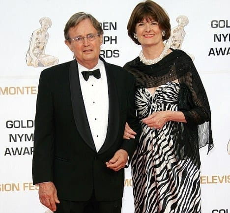 David McCallum and Katherine Carpenter