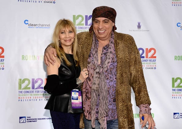 Steven and Maureen Van Zandt