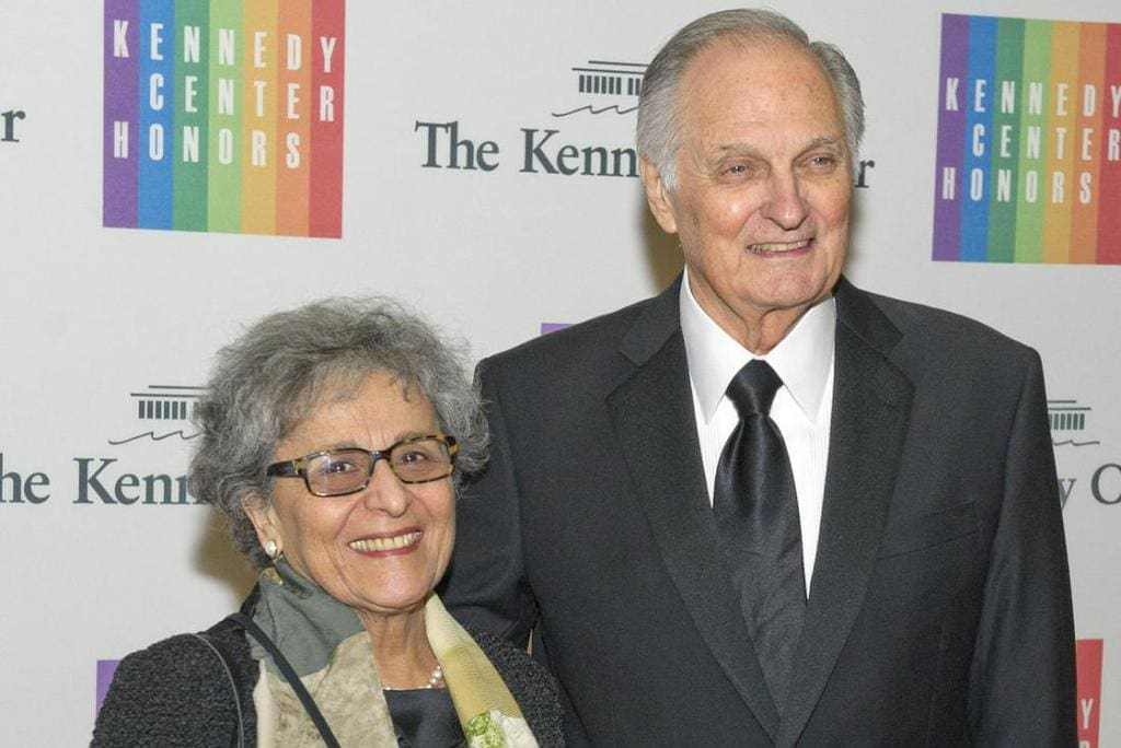 Alan and Arlene Alda