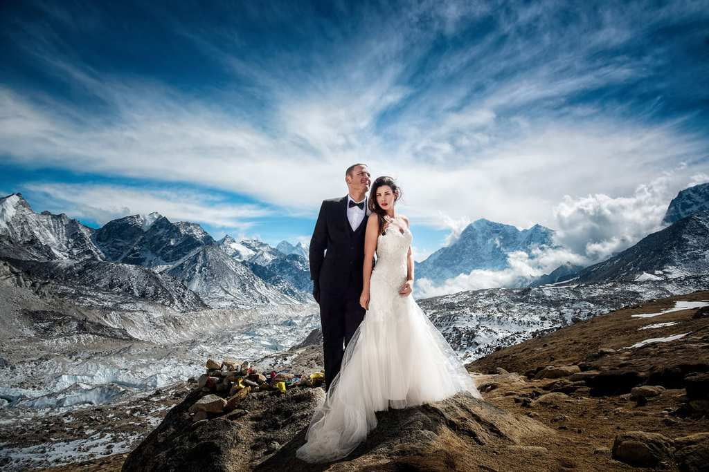 wedding- everest