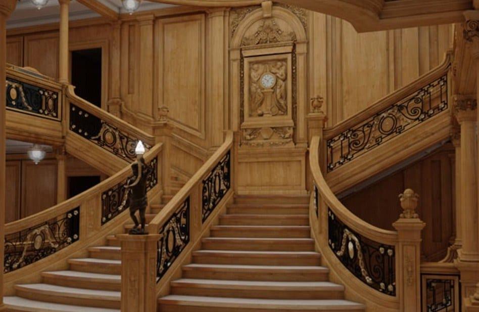 titanic II- stairs