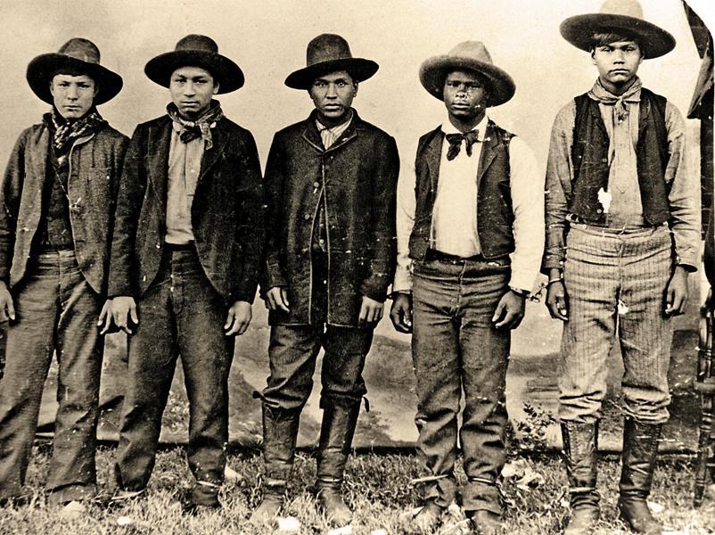 old west rufus buck gang