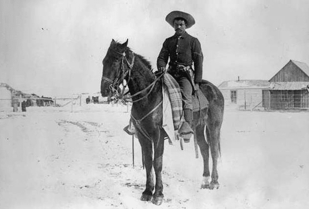 old west buffalo soldier