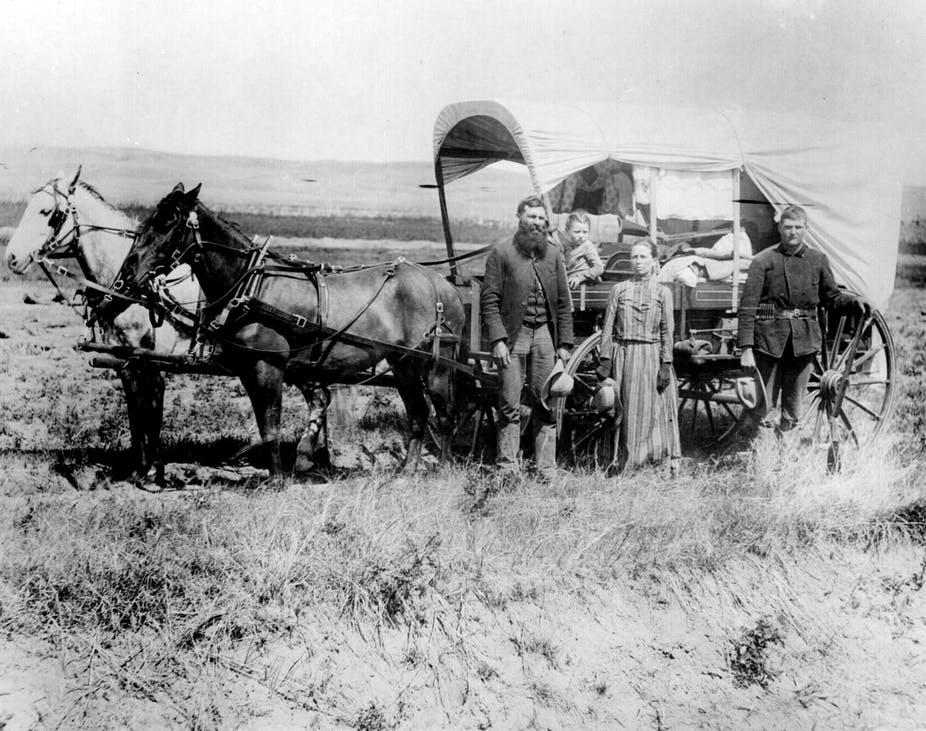 old west european settlers