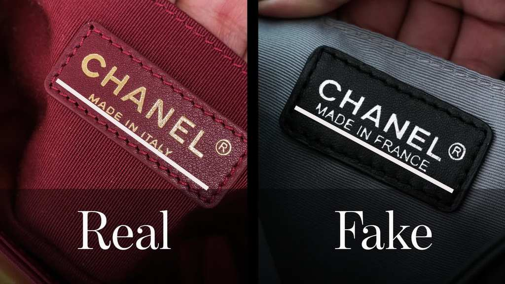 1d63d1cd565 ... is the real deal. A Chanel bag will come with an authenticity card  inside
