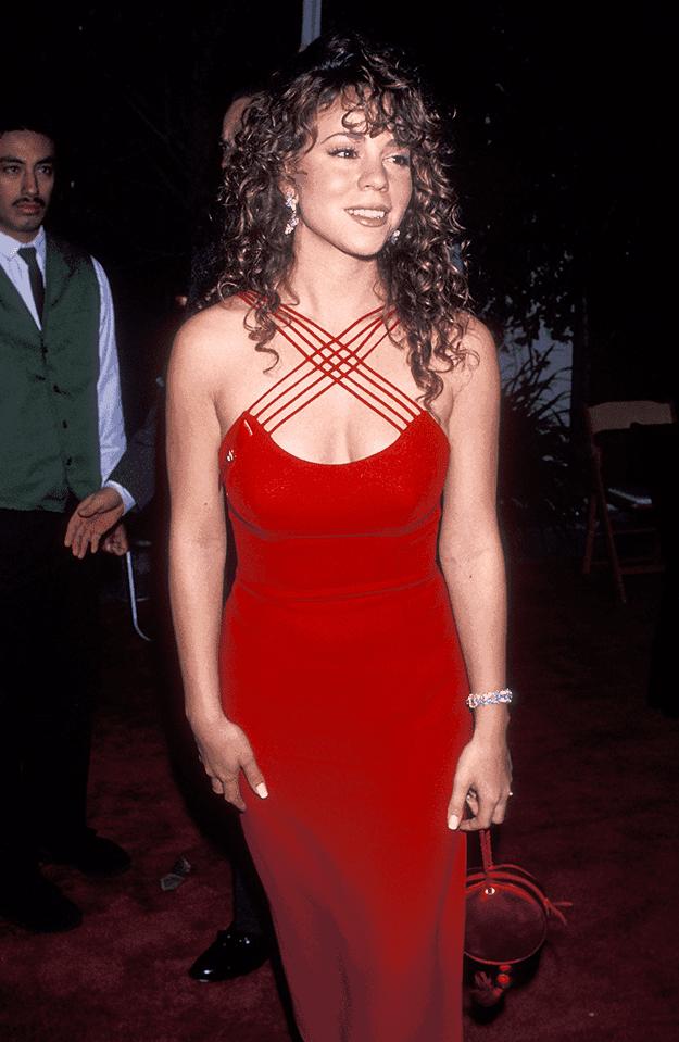 red carpet-mariah