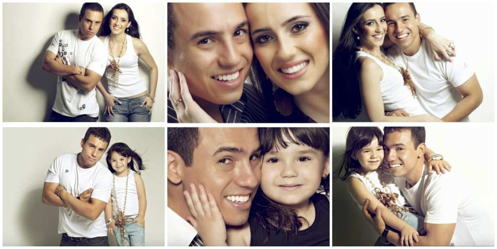 Man Recreates Photos Of His Late Wife With Their Daughter