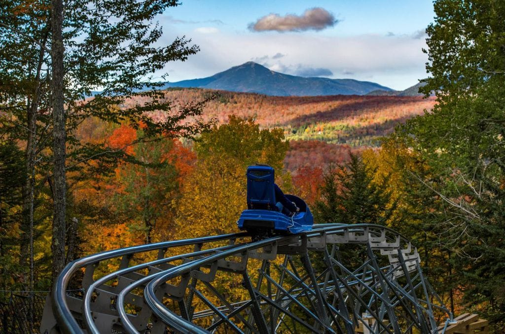 the Longest Mountain Coaster in the US