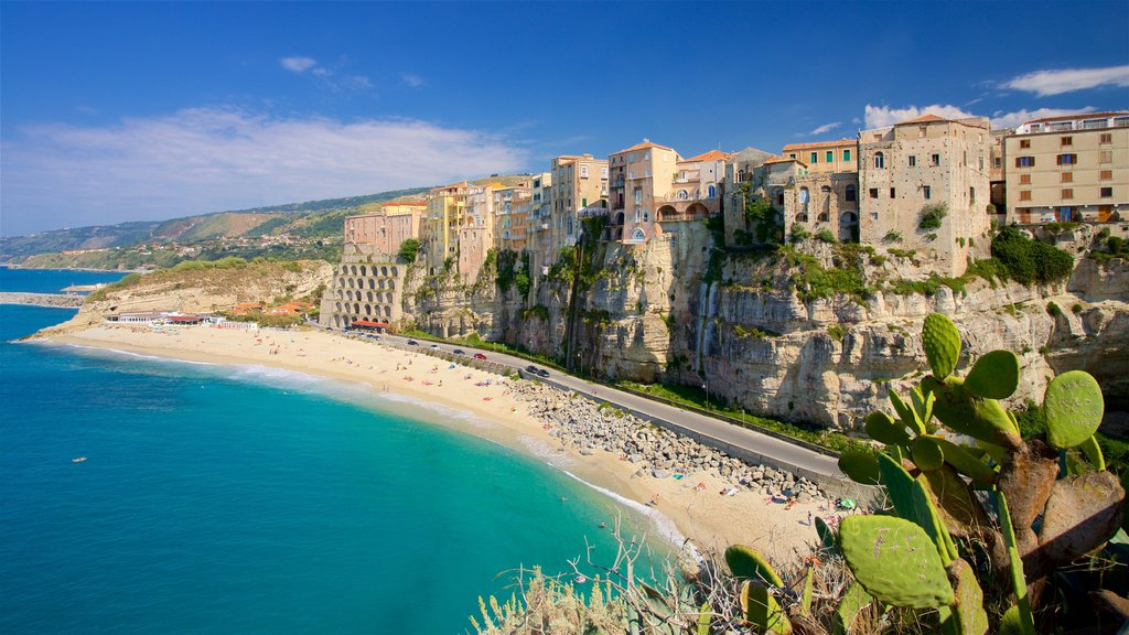 The coast of Calabria