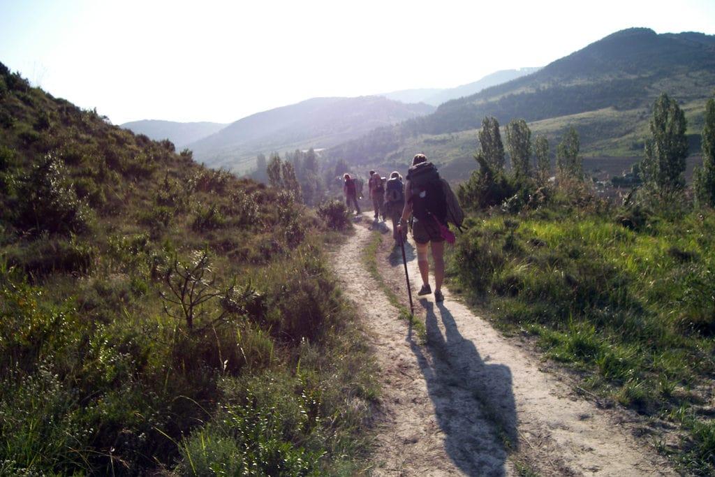 Travelers Doing the Camino de Compostela