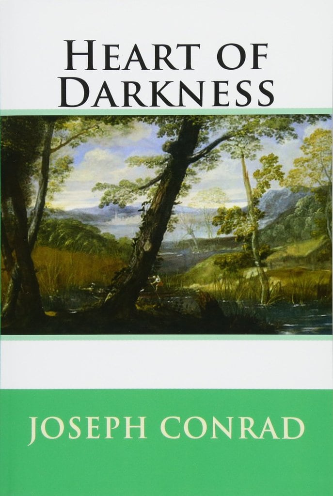 The cover of the book Heart of Darkness by Joseph Conrad