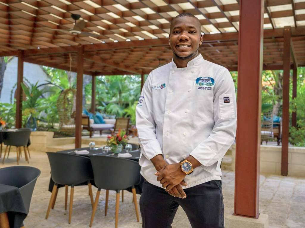 Executive Chef Trevon Stoute