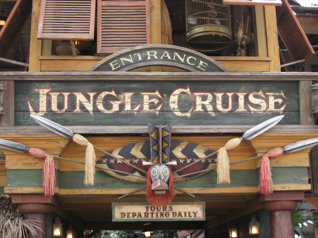 Jungle Cruise Ride