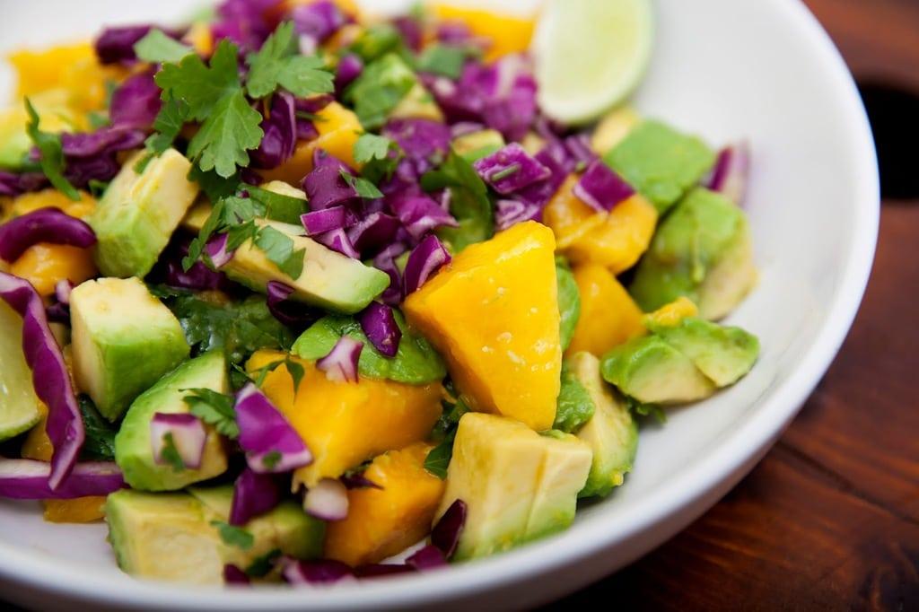 Senegalese Avocado & Mango Salad