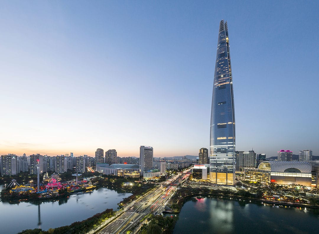 Lotte World Tower - 1,823 ft.
