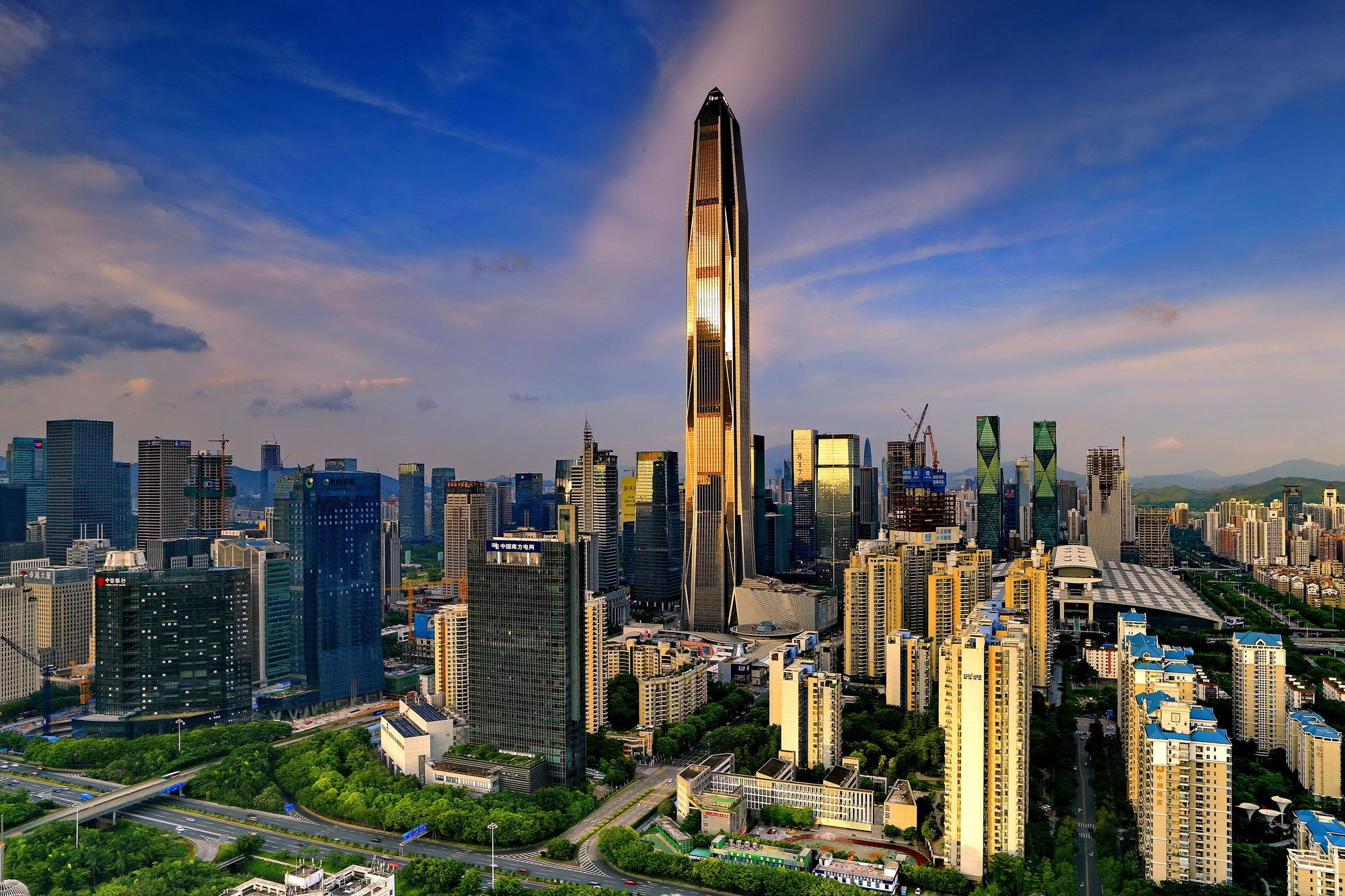 Ping An International Finance Center - 1,965 ft.