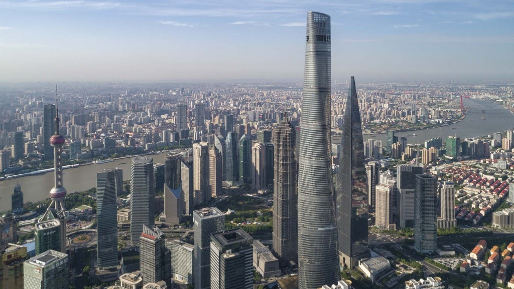 Shanghai Tower - 2,073 ft.