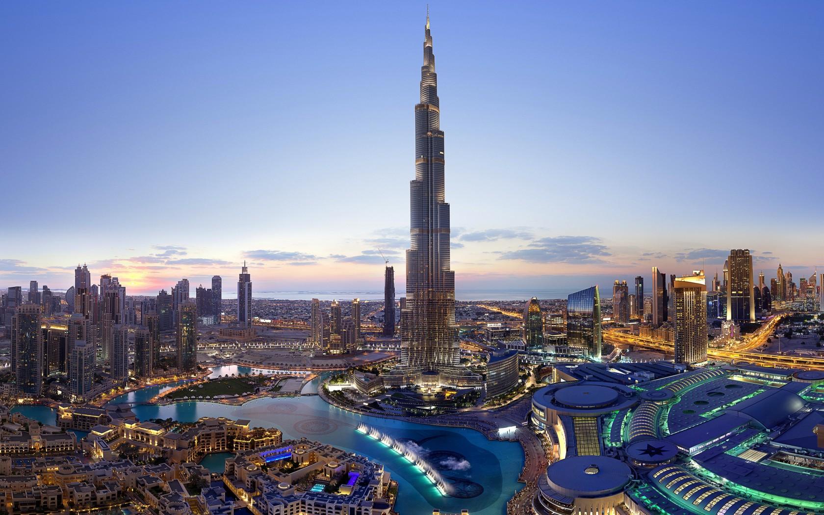The Tallest of Them All - Burj Khalifa - 2,716 ft.